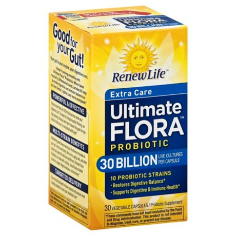 Renew Life 174 Ultimate Flora 30 Billion 30 Count Extra Care