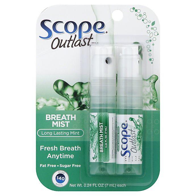 Alternate image 1 for Scope Original Mint 2-Pack Breath Mist