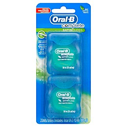 Oral-B® Complete 2-Pack Satin Floss