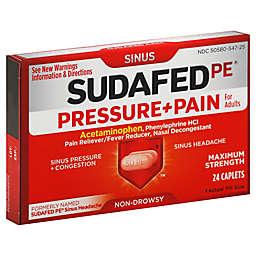 Sudafed PE® 24-Count Sinus Pressure + Pain Caplets