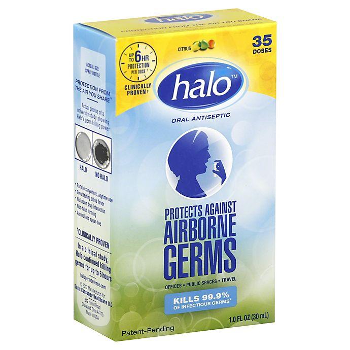 Alternate image 1 for halo™ 1 oz. Oral Antiseptic Spray in Citrus