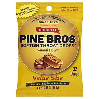 Pine Bros.® 32-Count Softish Throat Drops in Natural Honey