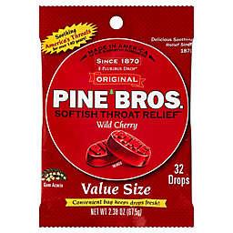 Pine Bros.® 32-Count Softish Throat Relief Drops in Wild Cherry Flavor