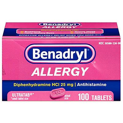 Benadryl Allergy Ultra 100-Count Tablets