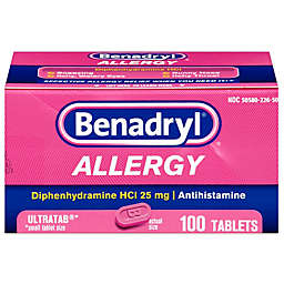 Benadryl Allergy Ultra 100-Count Tablets