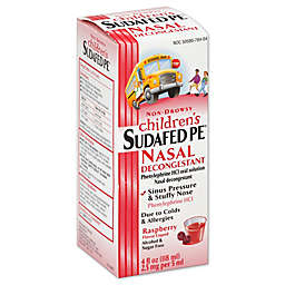 Children's Sudafed PE® 4 fl. oz. Nasal Decongestant Liquid in Raspberry