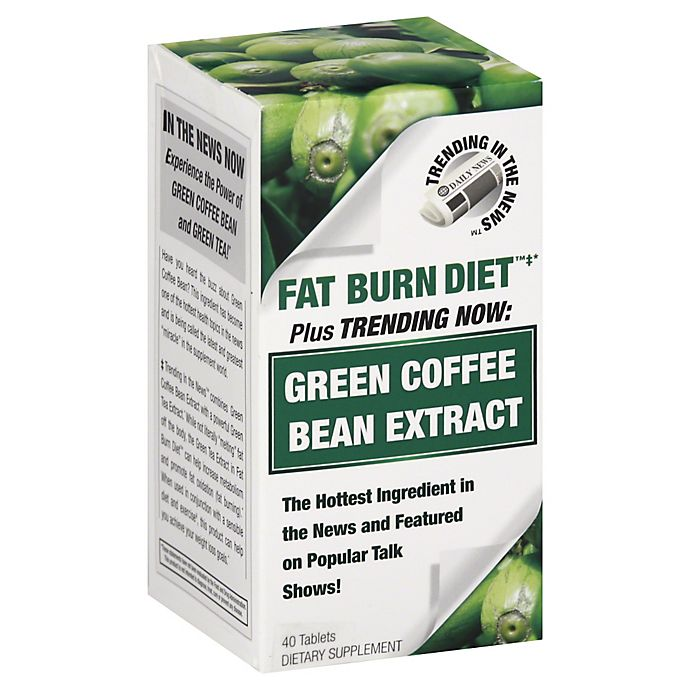 Trending In The News Green Coffee Bean Extract 40 Count Dietary