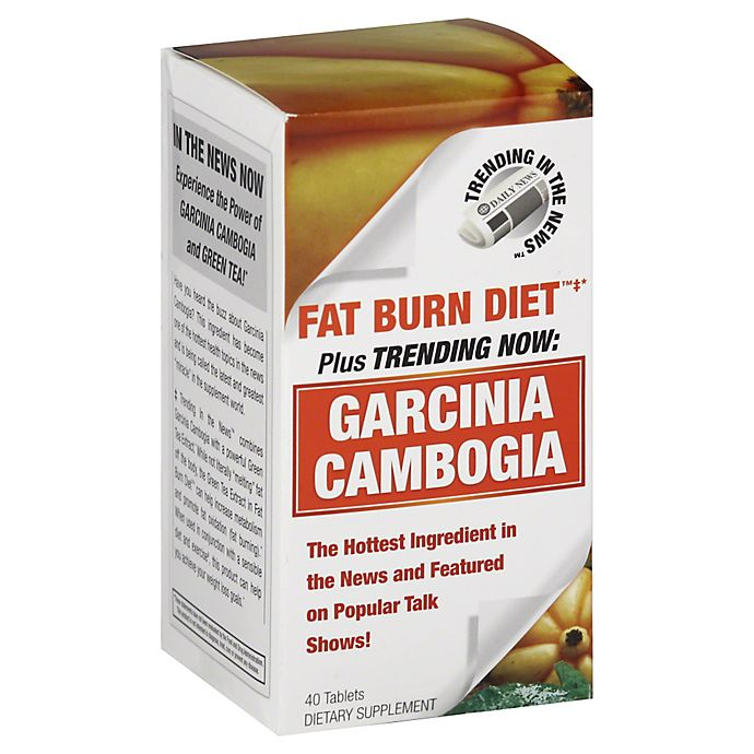 Trending In The News Garcinia Cambogia 40 Count Dietary