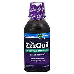 Vicks® ZzzQuil™ 12 fl. oz. Nighttime Sleep-Aid in Warming Berry Flavor