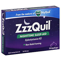 Vicks® ZzzQuil™ Nighttime Sleep-Aid 24-Count LiquiCaps®