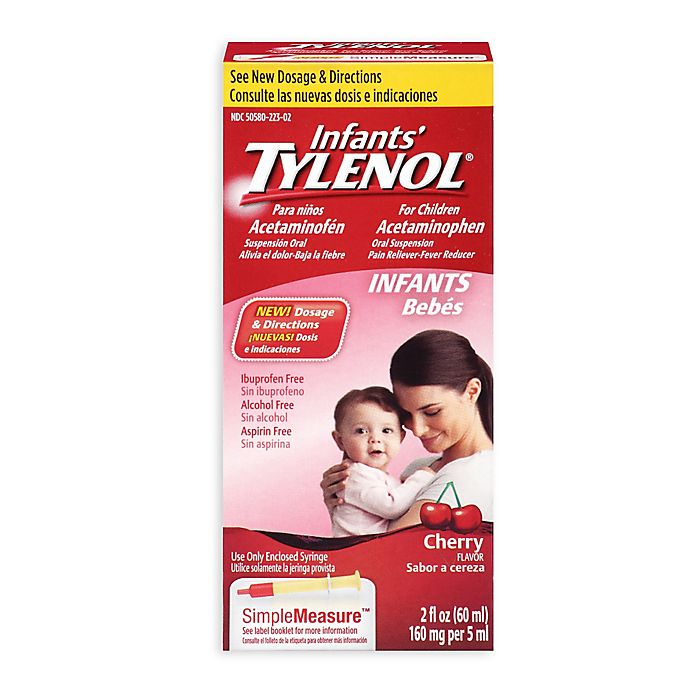 Alternate image 1 for Tylenol® Infant 2 oz. Syrup in Cherry