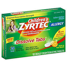 Zyrtec® Antihistamine 12-Count Oral Dissolve Tabs