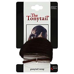 The Tonytail Ponytail Wrap in Medium Brown