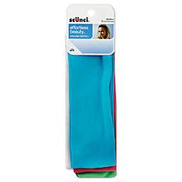 Scunci® 5-Count Cotton Headwrap in Basic Bright Colors