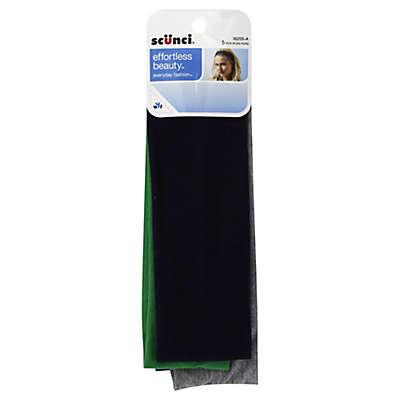Scunci® 5-Count Basic Headwrap