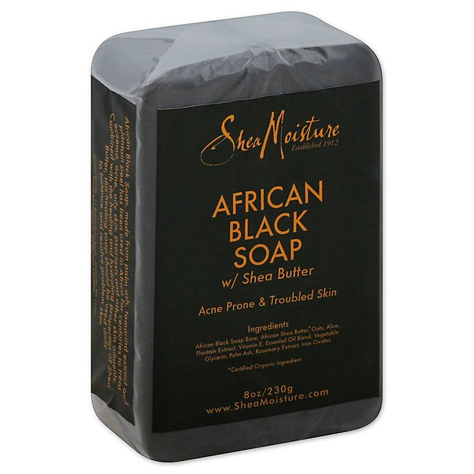 SheaMoisture® African Black Soap 8 oz. Soap Bar with Shea Butter ...