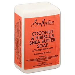 SheaMoisture® Coconut & Hibiscus Shea Butter Soap 8 oz. Bar Soap with Songyi Mushroom