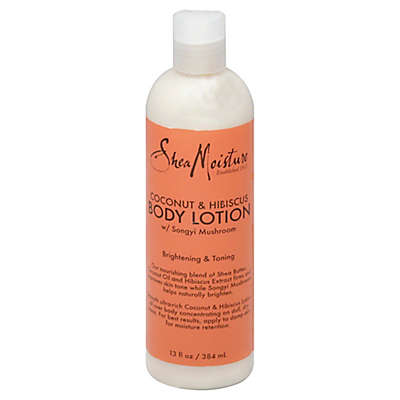 SheaMoisture® Brightening and Toning 13 fl. oz. Coconut & Hibiscus Body Lotion