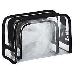 Allegro 2-Piece Clear PVC Organizer
