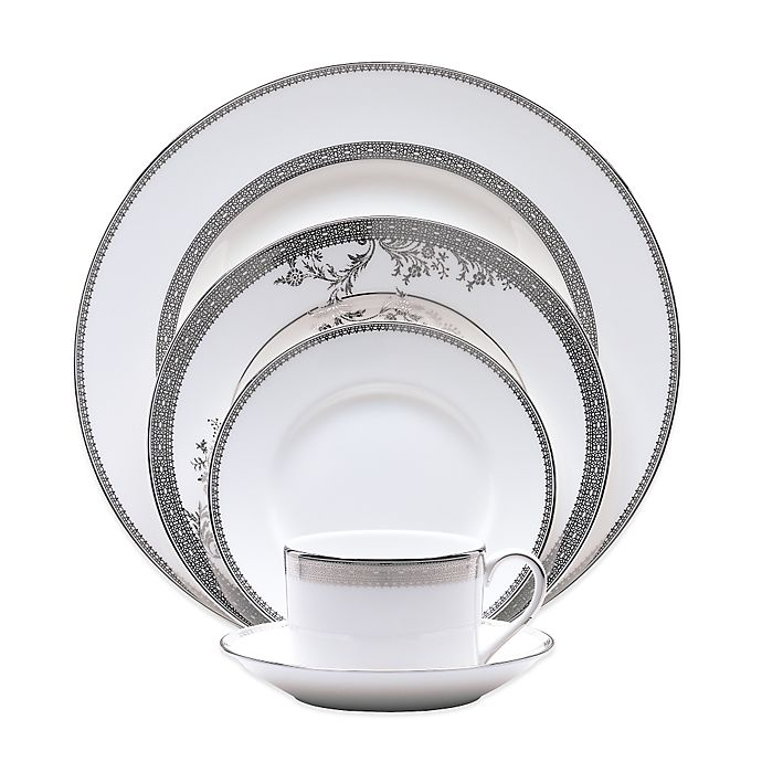 Alternate image 1 for Vera Wang Wedgwood® Vera Lace Dinnerware Collection