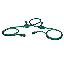 Stanley® PowerMax 25-Foot Outdoor Extension Cord in Green