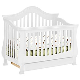Million Dollar Baby Classic Ashbury 4-in-1 Convertible Crib in White