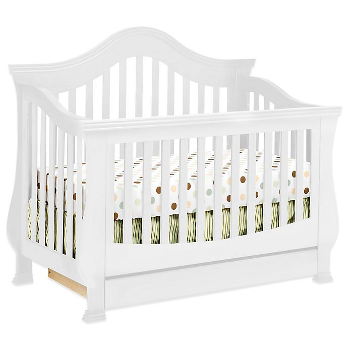 Alternate image 1 for Million Dollar Baby Classic Ashbury 4-in-1 Convertible Crib