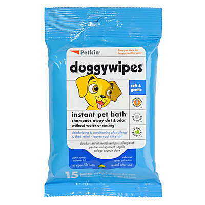 Petkin® 15-Count Doggywipes
