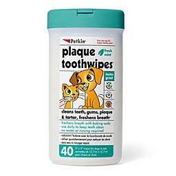 Petkin® 40-Count Plaque Toothwipes