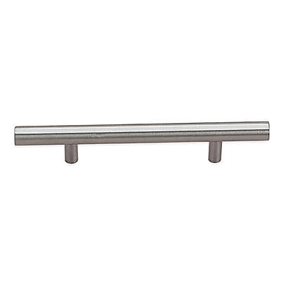 Richelieu 3-Inch Bar Pull Drawer Cabinet Hardware in Brushed Nickel