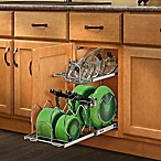 Rev-A-Shelf 5CW2-1222-CR 12 in. Pull-Out 2-Tier Base Cabinet Cookware Organizer