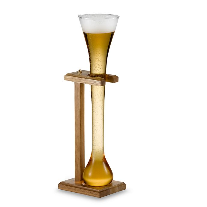 Alternate image 1 for Libbey® Half Yard of Ale Glass with Stand