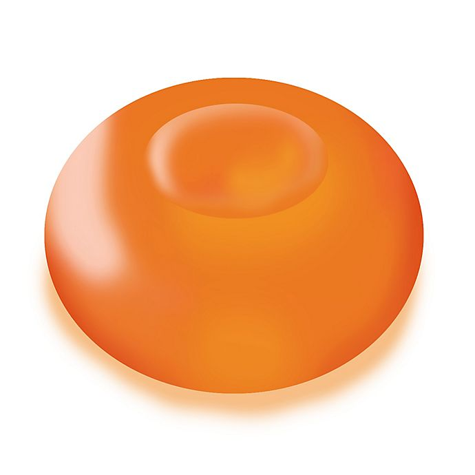 Alternate image 1 for Floating Blimp 12-Count LED Lights in Orange