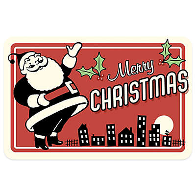 Bungalow Flooring City Santa 18-Inch x 27-Inch Floor Mat