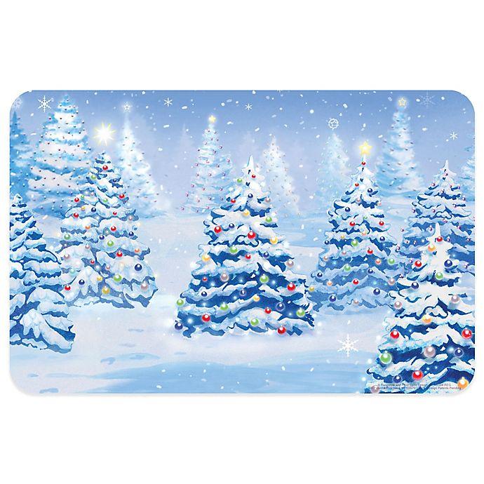 Alternate image 1 for Bungalow Flooring Winter Pines 18-Inch x 27-Inch Floor Mat