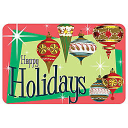 Bungalow Flooring Ornaments 18-Inch x 27-Inch Floor Mat