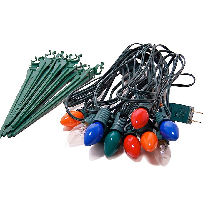 Alternate image 1 for Electric Pathway Lights in Multicolor (10 Count)