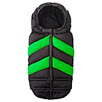 7 A.M.® Enfant Blanket 212 Chevron in Black/Green