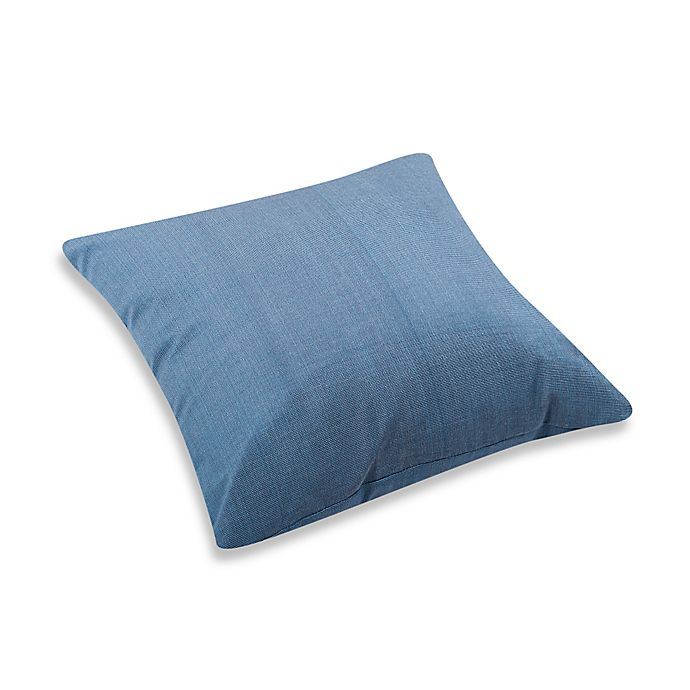 Zuo 174 Vive 21 3 Inch Square Outdoor Throw Pillow In Country