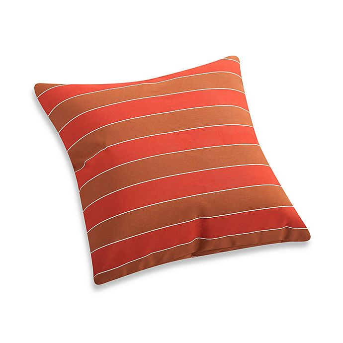 Alternate image 1 for Zuo® Vive Multicolor Stripe Square Outdoor Throw Pillow