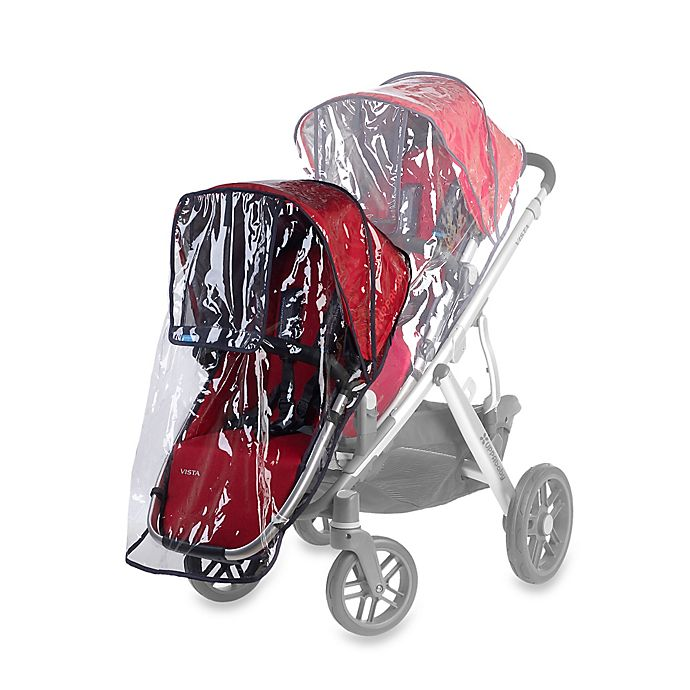 Alternate image 1 for UPPAbaby® VISTA RumbleSeat Rain Shield
