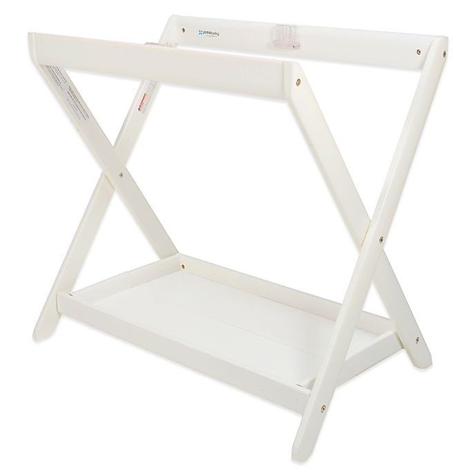Alternate image 1 for UPPAbaby® Vista Bassinet Stand in White