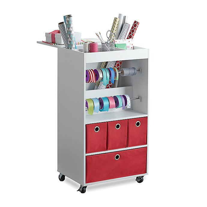 Alternate image 1 for Real Simple® Gift Wrap Cart