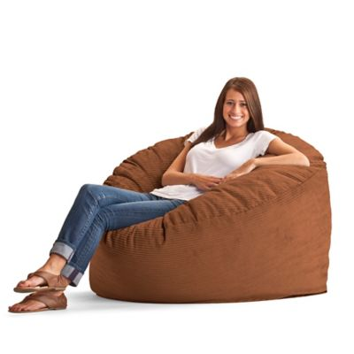 Comfort Research Large Wide Wale Corduroy Fuf Bean Bag
