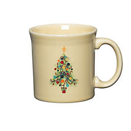 Fiesta® Christmas Tree Java Mug in Ivory
