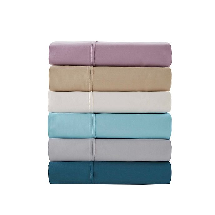 Alternate image 1 for Madison Park Hotel 800-Thread-Count Cotton  Rich Sheet Set