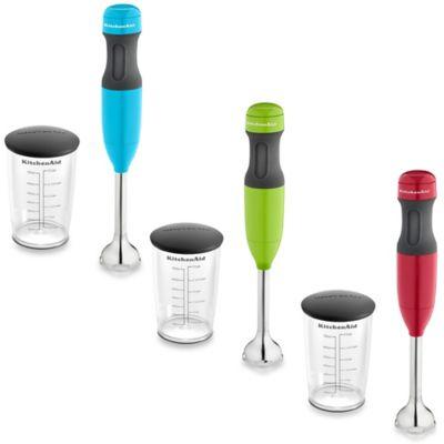 Kitchenaid 174 2 Speed Hand Blender With 3 Cup Jar Amp Lid