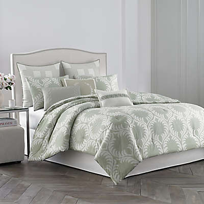 Wedgwood® Laurel Leaves Comforter Set