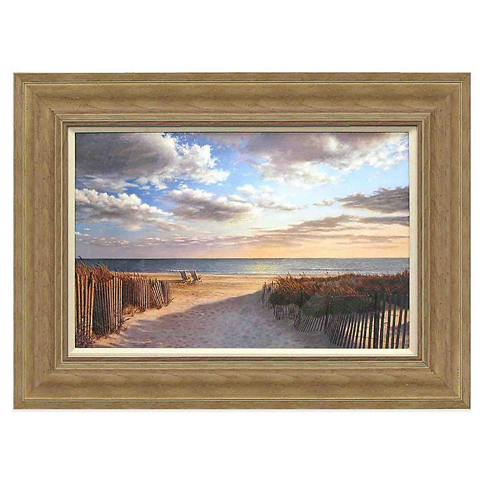 Alternate image 1 for Sunset Beach Framed Wall Art