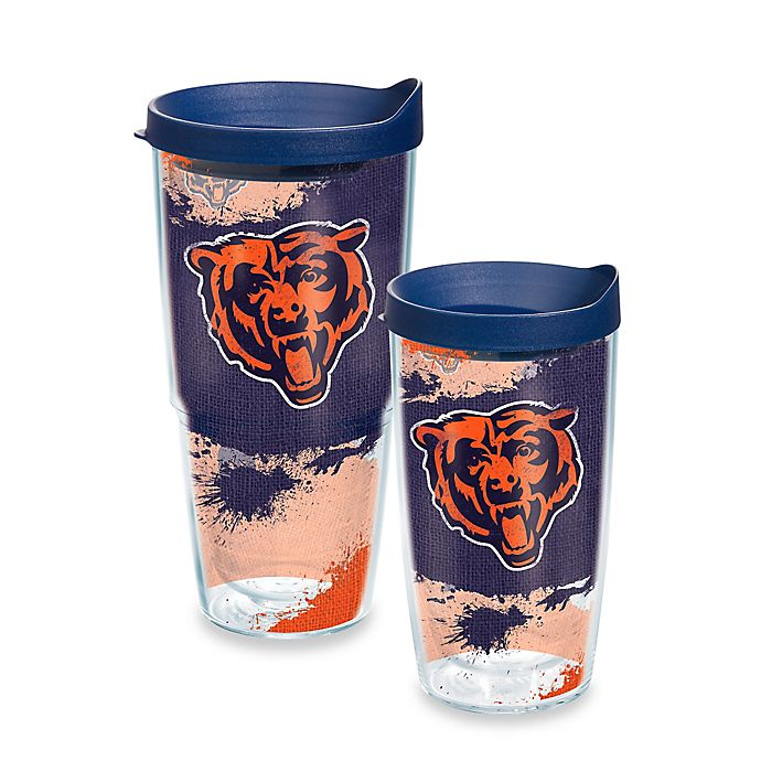 Alternate image 1 for Tervis® NFL Chicago Bears Distressed Wrap Tumbler with Lid